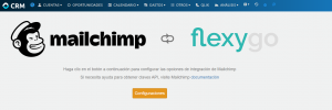 mailchimp and flexygo